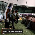 Hong Kong police vow action over parliament ransacking