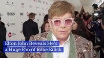 Elton John Continues To Praise Billie Eilish