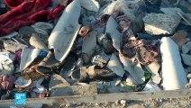 20190704- فتح النار على فارين من الغارة على مركز المهاجرين في ليبيا