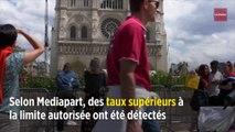Notre-Dame : des taux de plomb de 400 à 700 fois supérieurs au seuil autorisé