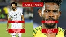 8e de finale de la CAN 2019 : le duel Egypte - Afrique du Sud en chiffres