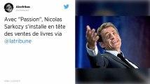 Nicolas Sarkozy en tête des ventes de livres en France