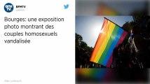 Une exposition photo avec des couples homosexuels vandalisée à Bourges
