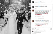 Sophie Turner and Joe Jonas share wedding photo