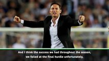 It was a tough decision to leave Derby - Lampard
