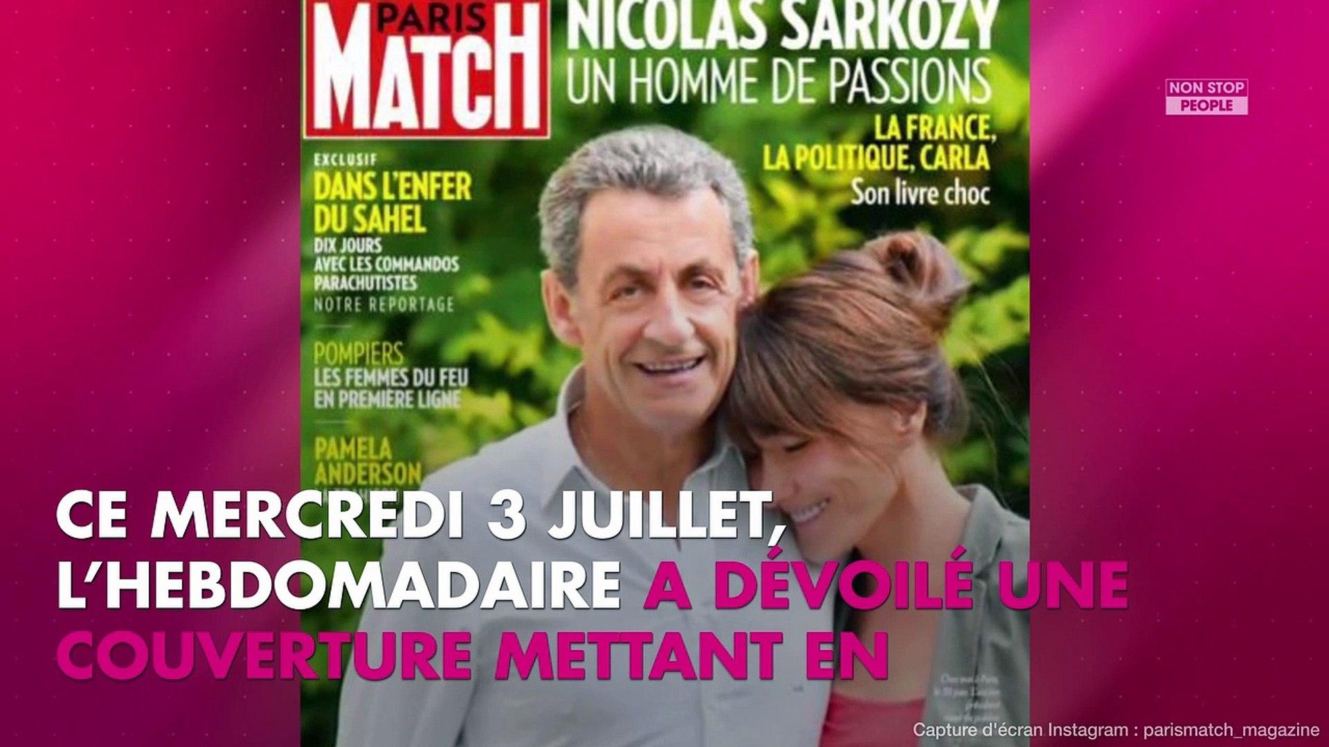 Nicolas Sarkozy Retouche Paris Match Livre Sa Version Des Faits Video Dailymotion