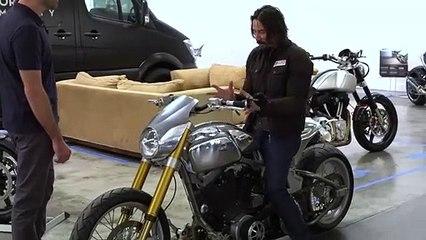 Inside Keanu Reeves Custom Motorcycle Shop  WIRED