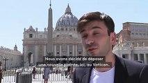 Une victime présumée de l'ambassadeur du pape en France va déposer une nouvelle plainte au Vatican
