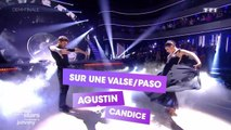 """DALS S08 - Agustin Galiana et Candice Pascal dansent un Paso Doble sur """"L'Envie"""" de Johnny Hallyday"""