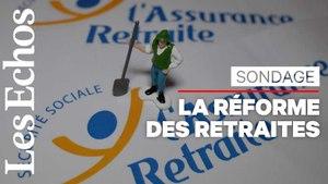 Réforme des retraites : « L'opinion est partagée et inquiète »