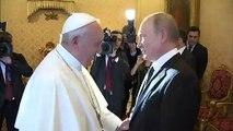 Papa recebe Putin no Vaticano