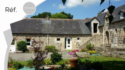 Charmante longère en pierre à vendre entre particuliers  à 10 mn de Carhaix Finistère Bretagne
