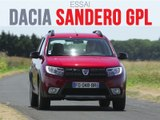 Essai Dacia Sandero Eco G 90 Techroad 2019