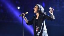 Demi Lovato a eu un gros crush sur un candidat de télé-réalité!