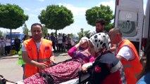 Besni'de 'Afet Acil Durum Saha Tatbikatı' gerçekleştirildi - ADIYAMAN