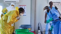 Behind the scenes: Covering Ebola in a war zone