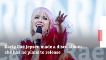 Carly Rae Jepsen Will Not Release This Album
