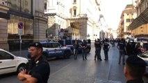 Flash mob di + Europa contro visita di Putin a Roma