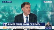 """Olivier Faure (PS) préférait que Jean-Michel Blanquer """"réentame le dialogue"""" avec les enseignants"""