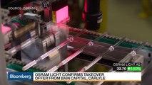 Bain, Carlyle Near $3.8 Billion Buyout of Germany's Osram