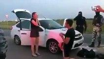 Arrestation musclée d'un trafiquant de drogue en russie... Enfin, presque