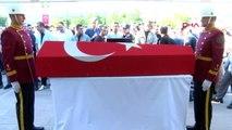 KIRIKKALE-Şehit Jandarma Uzman Çavuş Yasin Baran son yolculuğuna uğurlandı