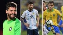 Veja o time com os atletas mais valiosos da Copa América