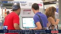 GRAND ANGLE - SNCF: les fermetures de guichets rallongent les files d'attente