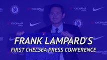 'It's the biggest challenge of my career' - Lampard's best bits