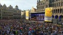 Tributo del Tour de Francia a Merckx y al 'jersey amarillo' en Bruselas