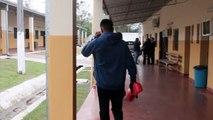 "Ricardo ""La Pantera"" Moray prepares for boxing match in high-security prison"