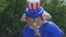 Les premières images de la traditionnelle parade de la fête nationale américaine