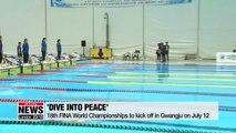 Sneak peek of FINA World Championships Gwangju
