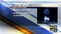 Where to see fireworks in Phoenix  25 Fourth of July fireworks shows to see around the Valley