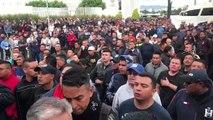 """Gobierno de México acusa a """"grupos"""" y expresidente por protesta policial"""
