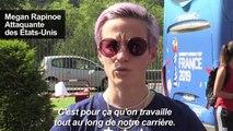 """Mondial-2019: Rapinoe se sent """"vraiment bien"""" avant la finale"""