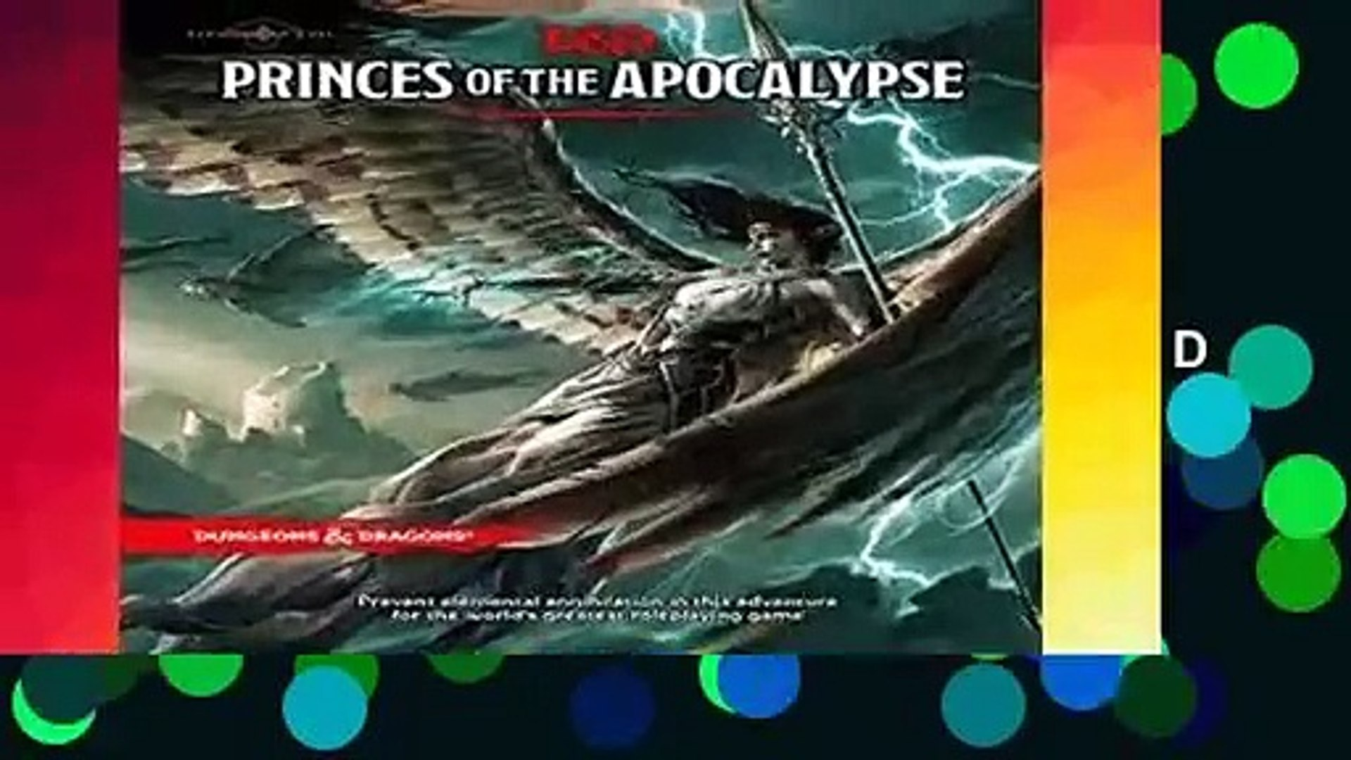 R E A D Princes Of The Apocalypse Dungeons Dragons