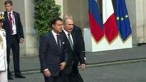 Putin aboga por las relaciones Rusia-UE durante su visita a Italia