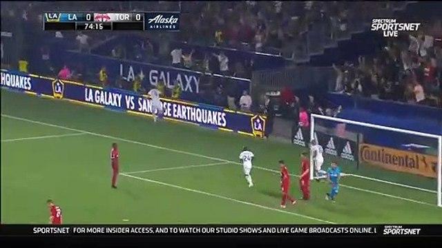 LA Galaxy [1] - 0 Toronto FC - Ibrahimovic goal