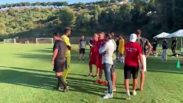 Romanian side Gaz Metan Medias walked off in their pre-season closed doors friendly with English team Charlton Athletic