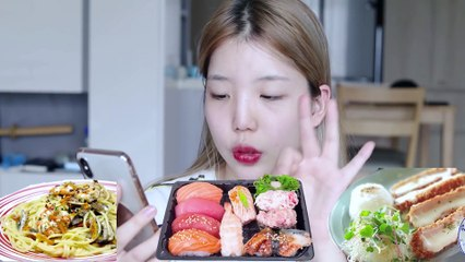 How to get rid of stress mukbang vlog- [JJeong U]