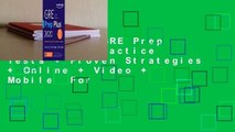 Full E-book GRE Prep Plus 2020: Practice Tests + Proven Strategies + Online + Video + Mobile  For