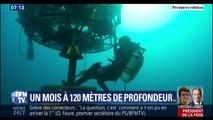 Durant un mois, 4 plongeurs vont explorer la Méditerranée et vivre dans une capsule à 120 mètres de profondeur
