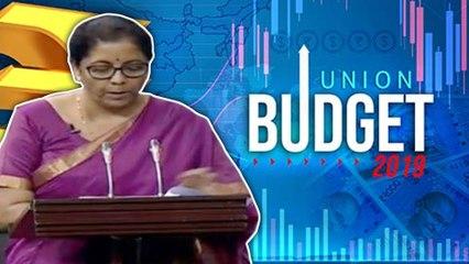 Budget 2019 Live: பட்ஜெட் உரையை ஆரம்பித்தார் நிர்மலா சீதாராமன்