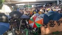 Hong Kong police make first wave of protest arrests
