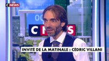 L'interview de Cédric Villani