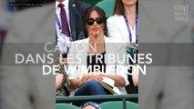 Meghan Markle canon avec un look casual dans les tribunes de Wimbledon !