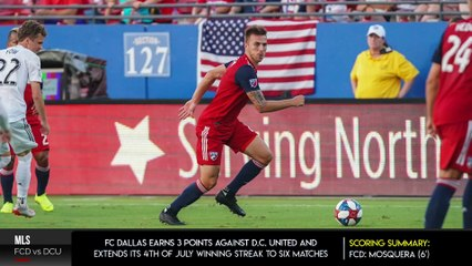 FC Dallas v D.C. United- A Match That Caused More Than Fireworks