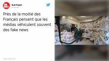 Fake news : Près d'un Français sur deux estime que les médias en véhiculent fréquemment