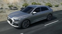 Audi SQ8 MHEV with electric powered compressor (EPC) Animation